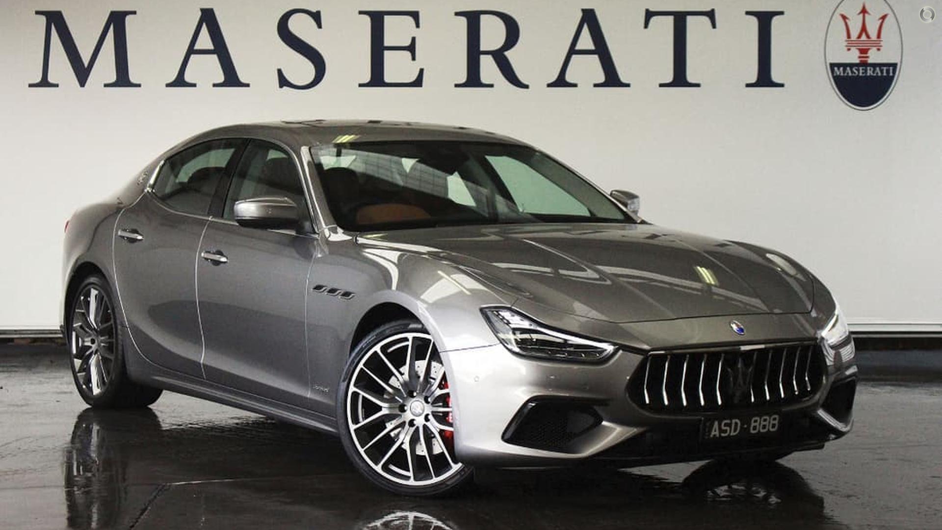 2018 Maserati Ghibli GranSport M157