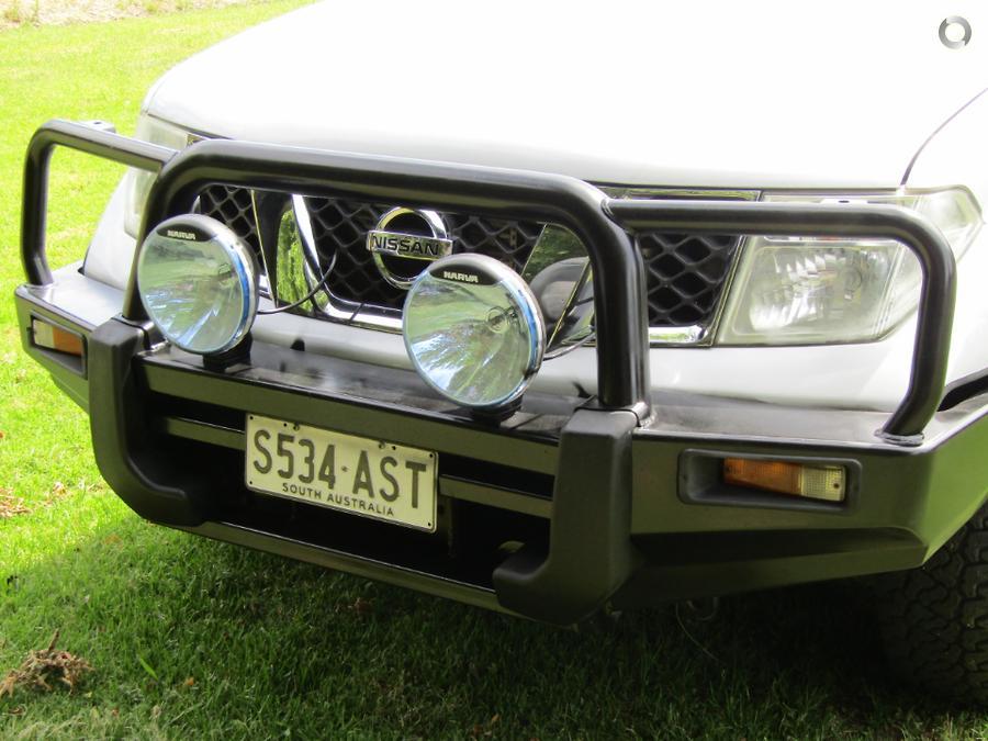2012 Nissan Navara RX D40 Series 7