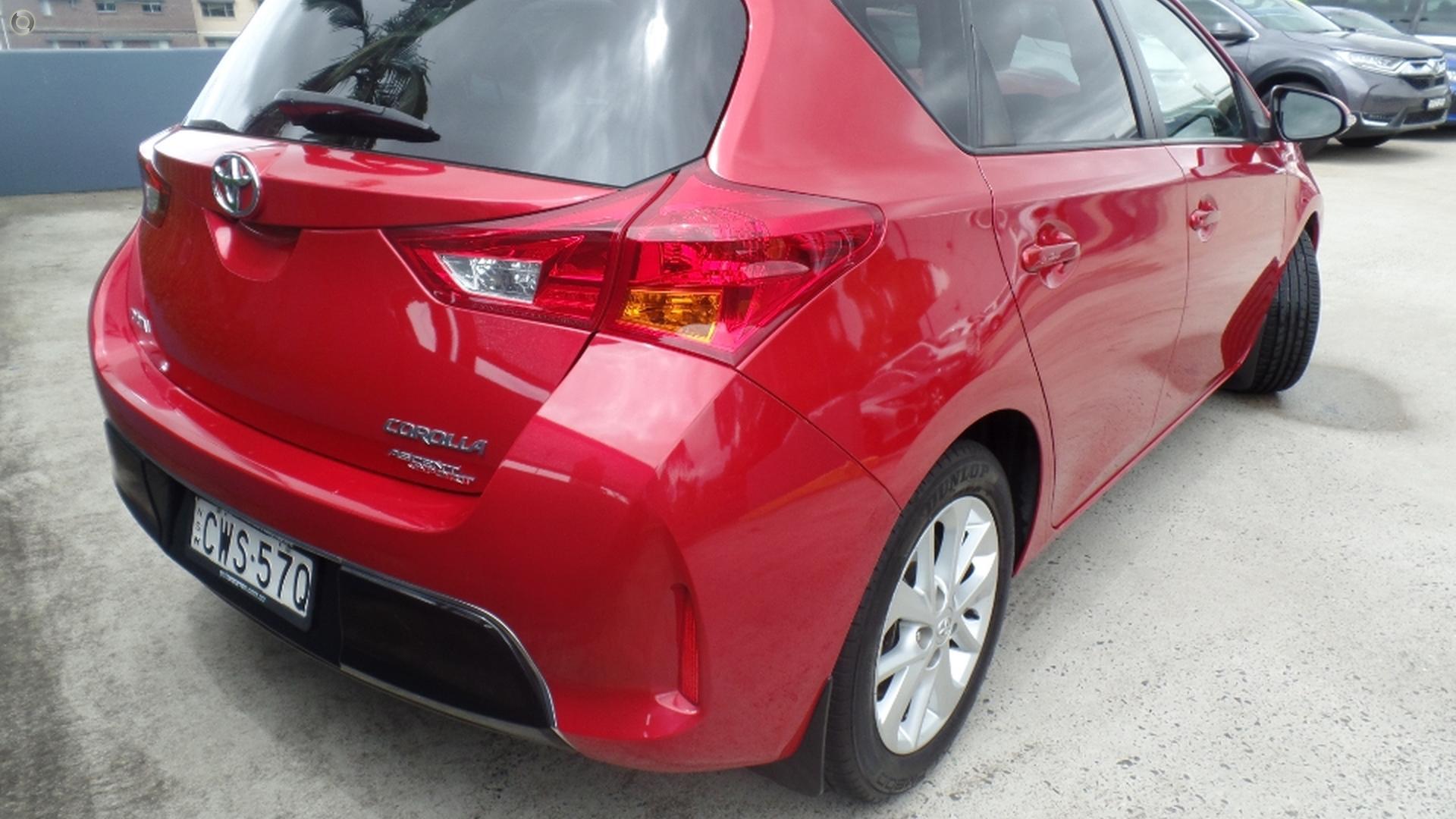 2014 Toyota Corolla Ascent Sport ZRE182R