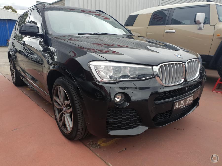 2016 BMW X3 xDrive30d F25 LCI