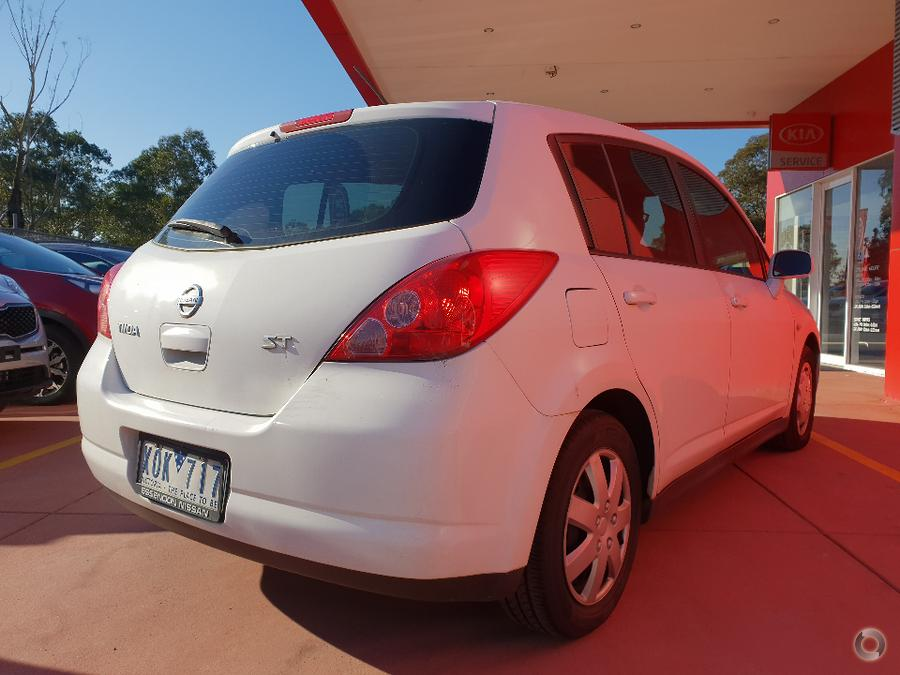 2009 Nissan Tiida ST C11
