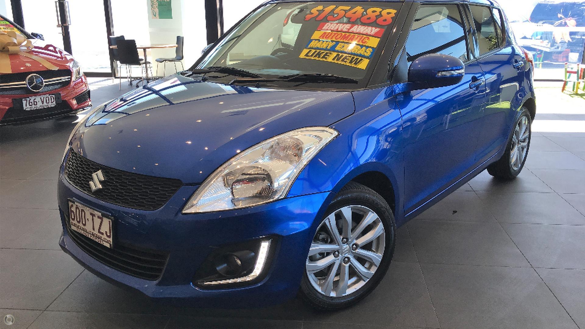 2014 Suzuki Swift GLX Navigator FZ