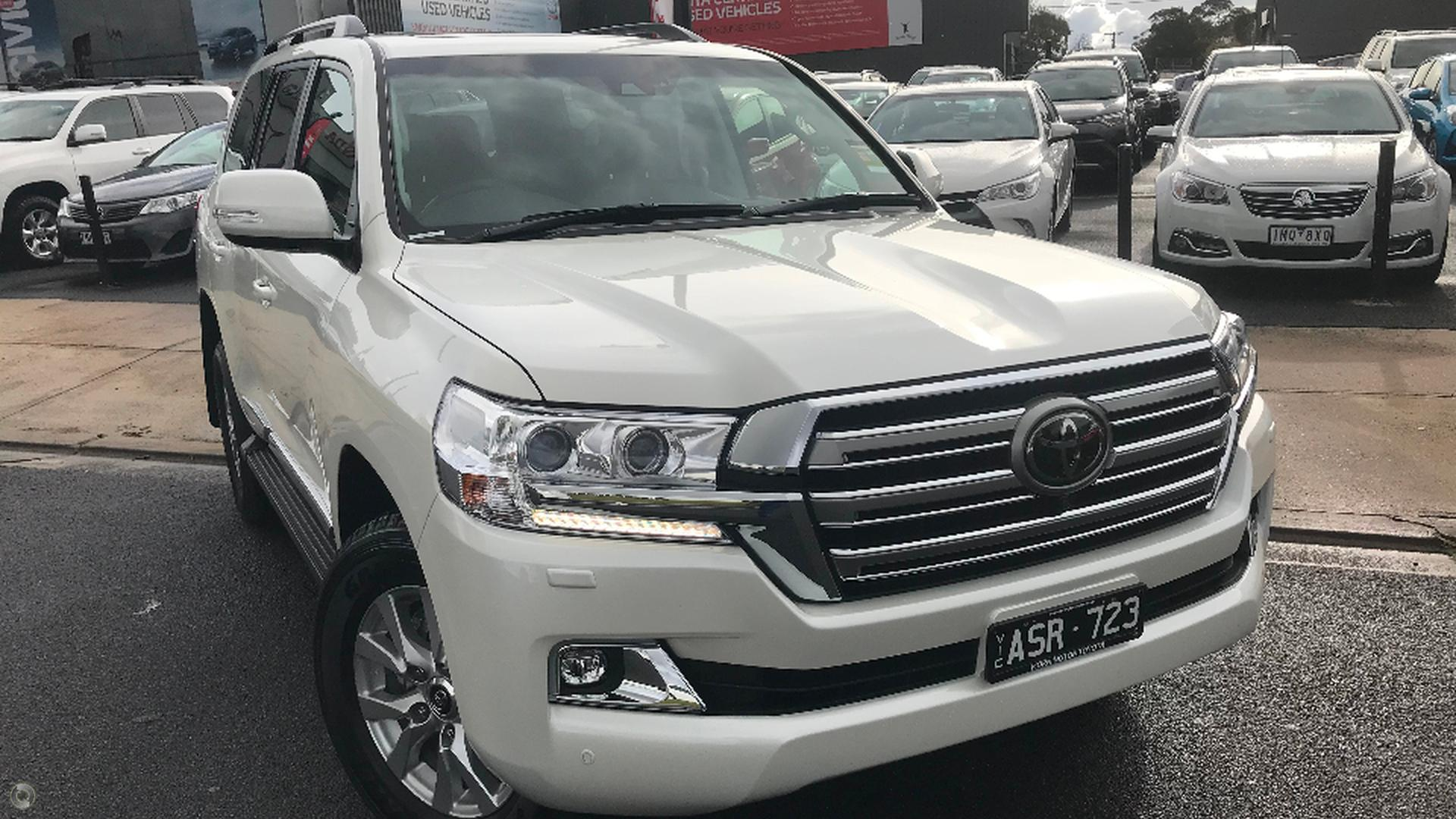 2018 Toyota Landcruiser Sahara Vdj200r Mornington Toyota