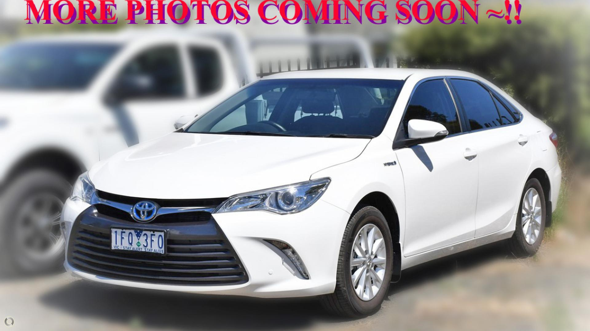 2015 Toyota Camry Altise AVV50R