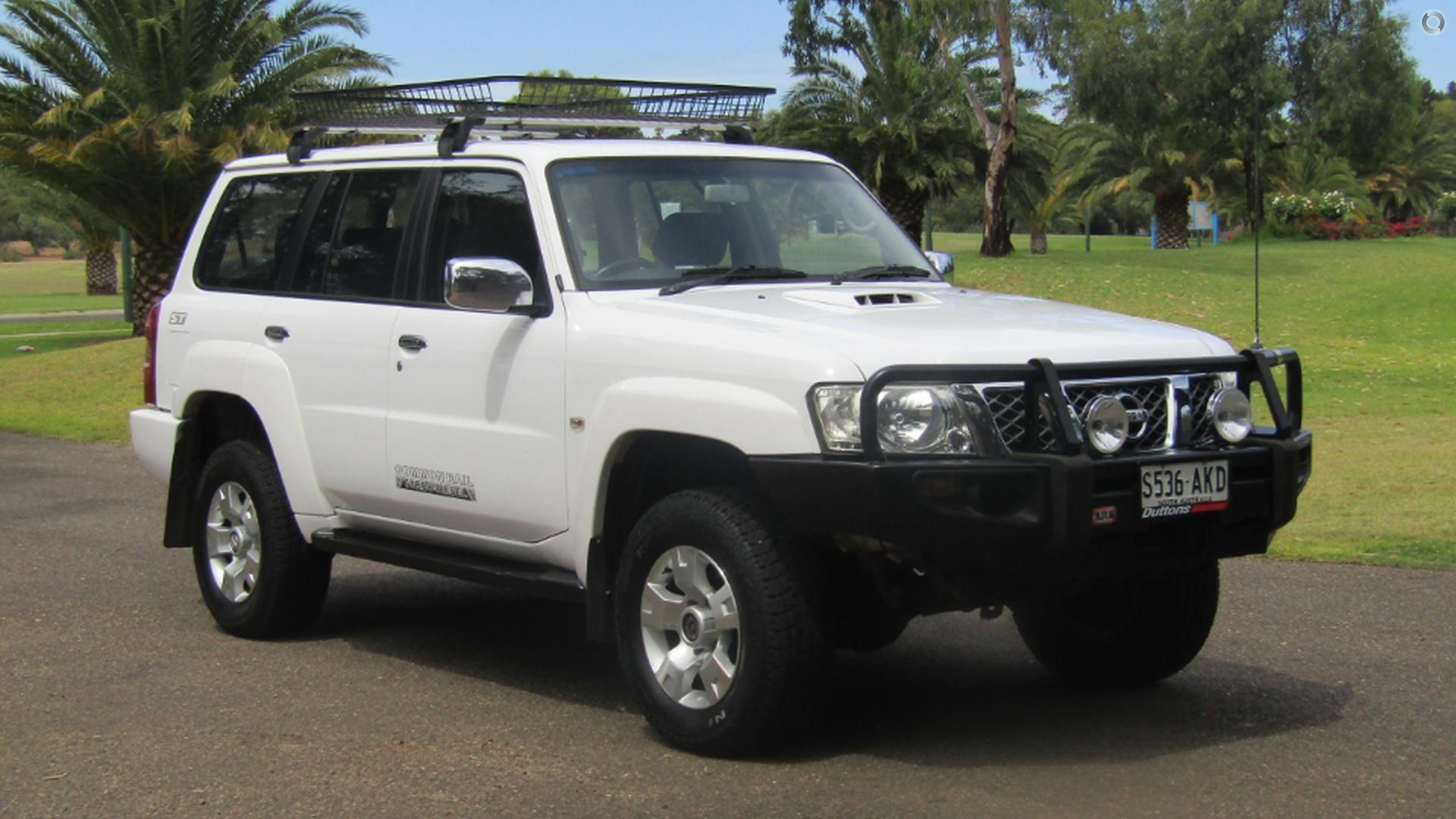 2008 Nissan Patrol ST GU 6