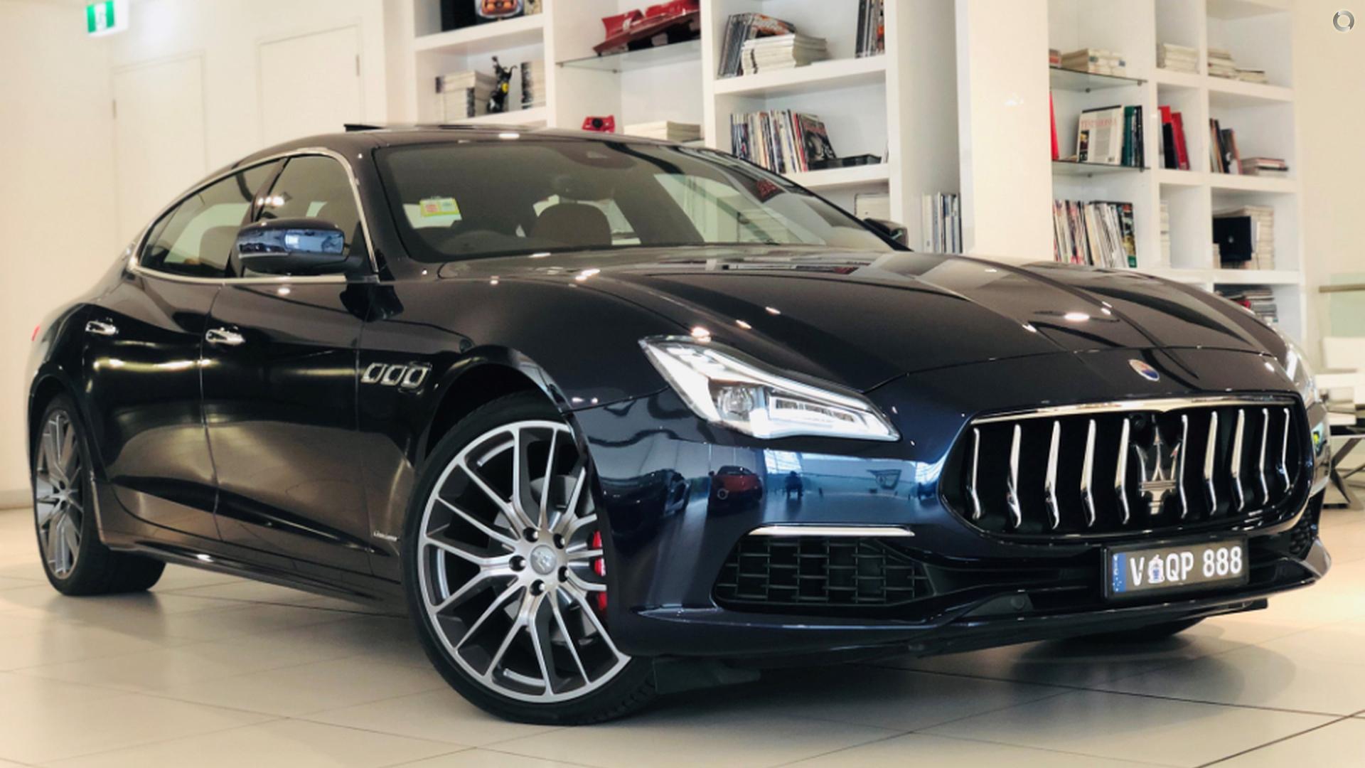 2018 Maserati Quattroporte GranLusso M156