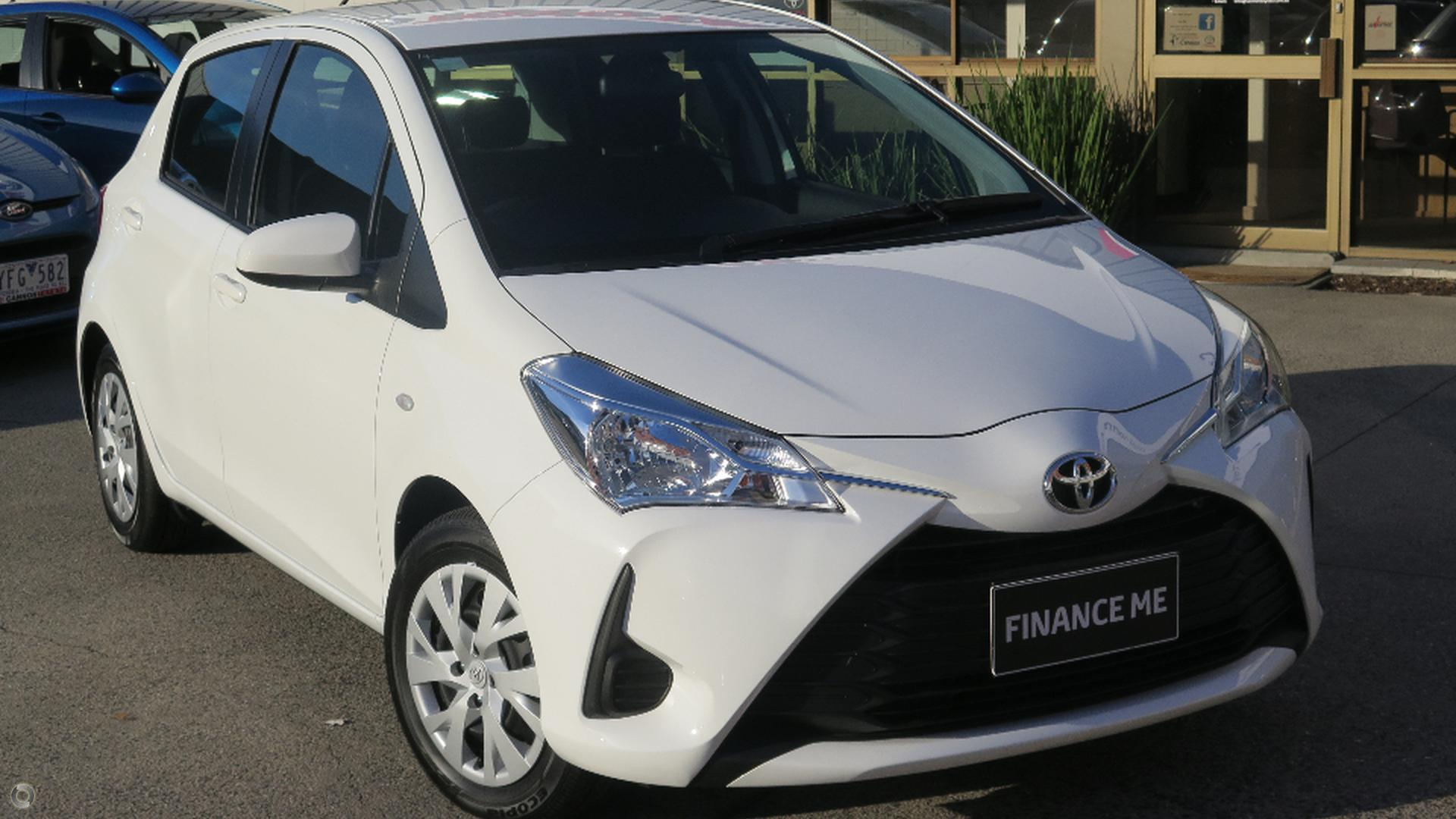 2017 Toyota Yaris Ascent Ncp130r Cannon Toyota