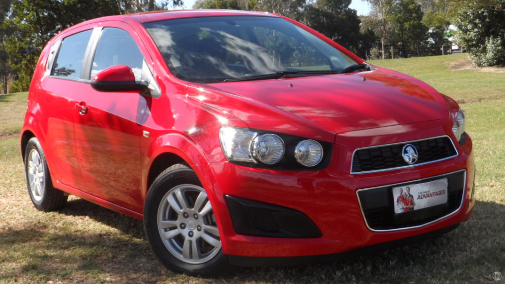 2016 Holden Barina Cd Tm Blood Toyota