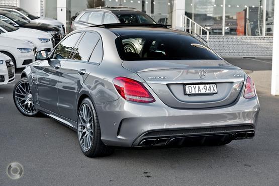 2015 Mercedes-Benz C63 AMG S W205