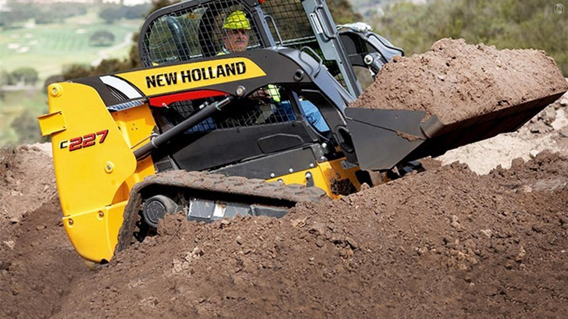 0 New Holland C227 Compact Track Loader