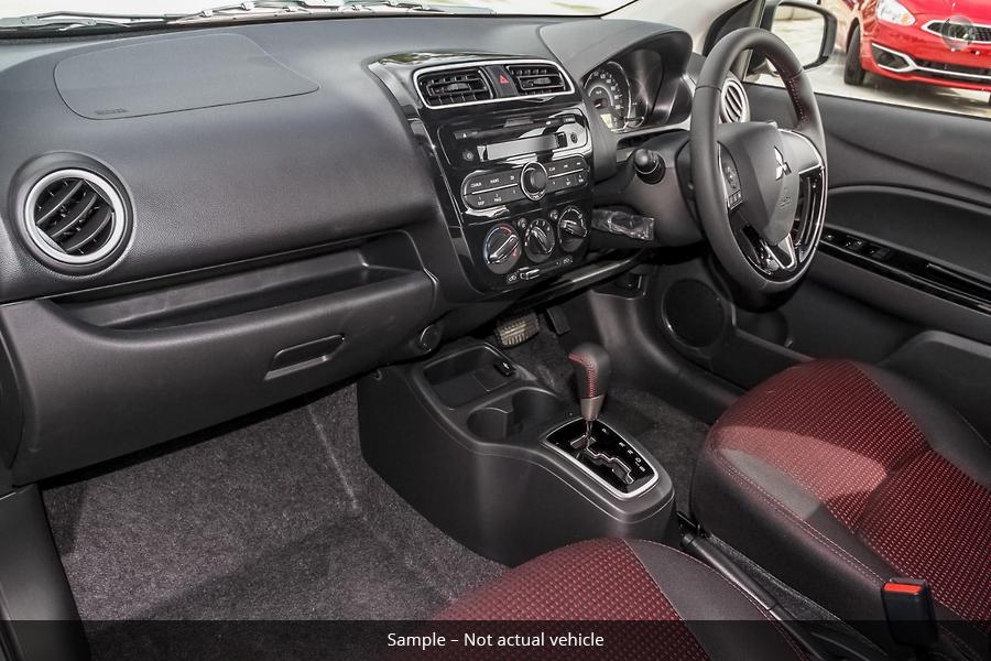 2019 Mitsubishi Mirage Black Edition LA