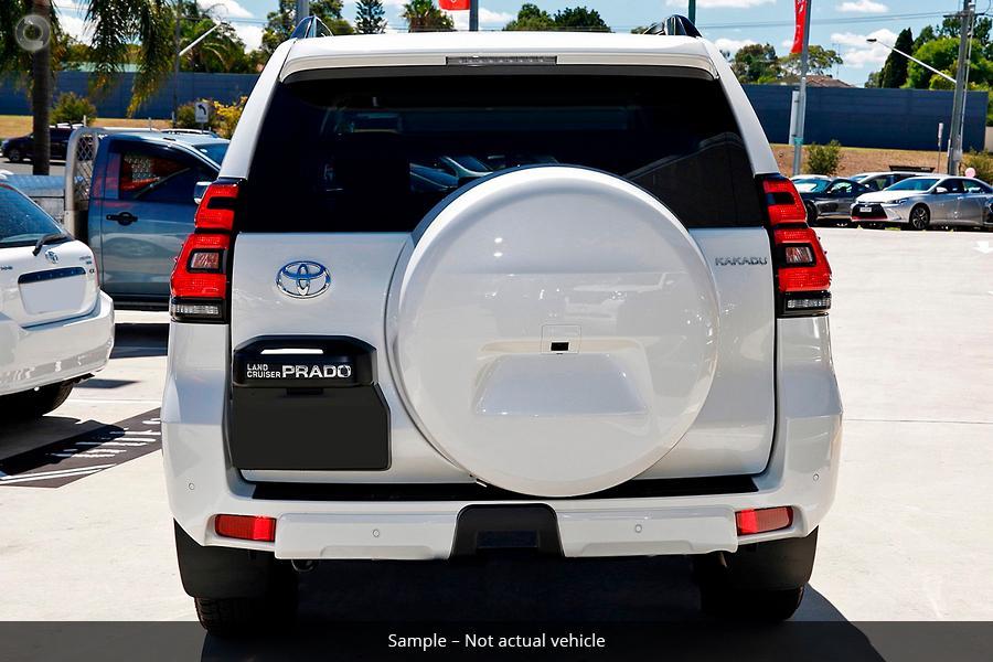 2019 Toyota Landcruiser Prado Kakadu GDJ150R