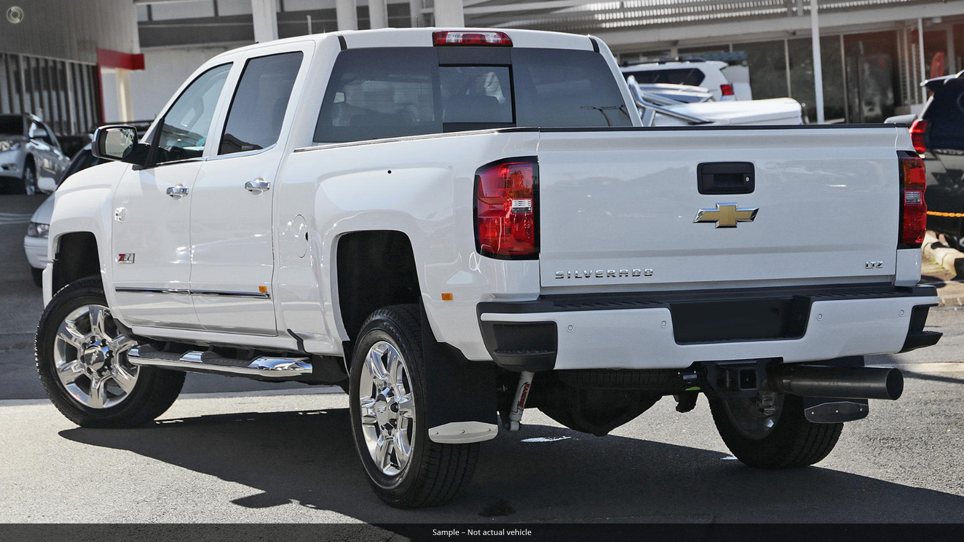 2018 Chevrolet Silverado 2500HD LTZ Custom Sport Edition C/K25