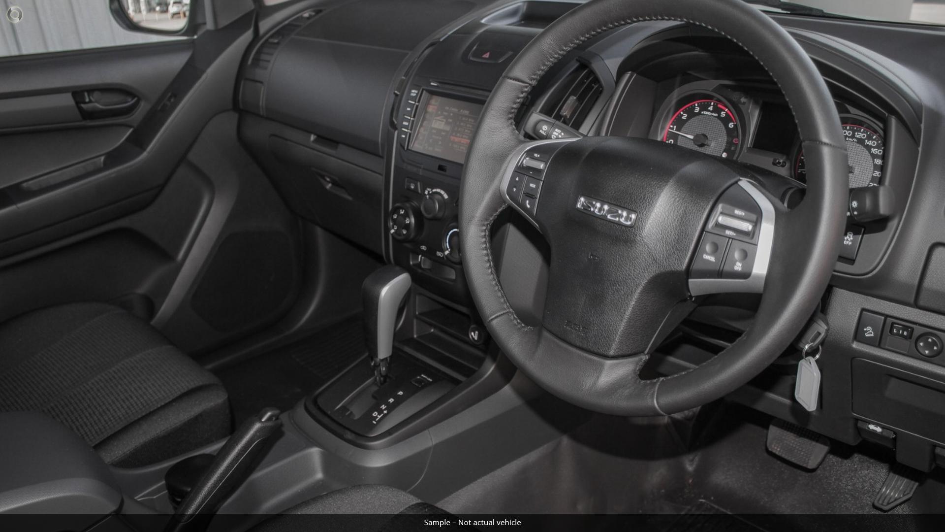 2018 Isuzu D-MAX SX High Ride (No Series)