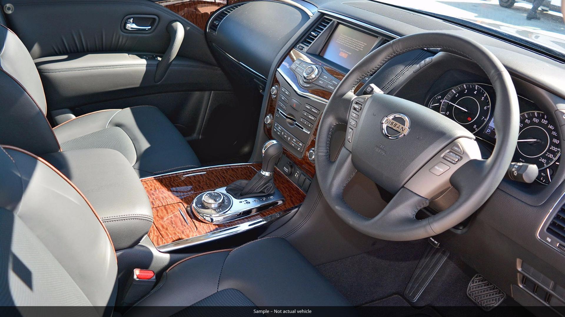 2019 Nissan Patrol Ti Y62 Series 4
