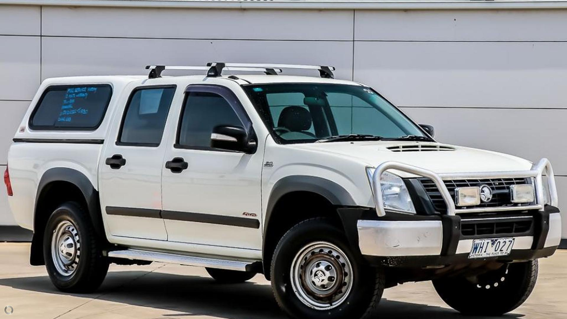 2008 Holden Rodeo RA