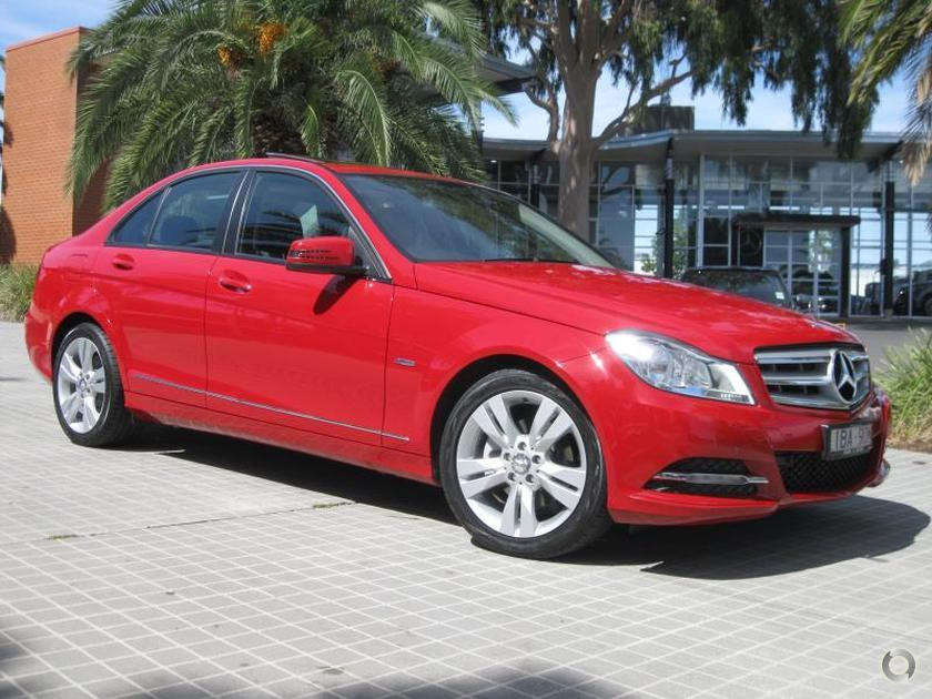 2012 Mercedes-Benz C 200 BLUEEFFICIENCY Sedan