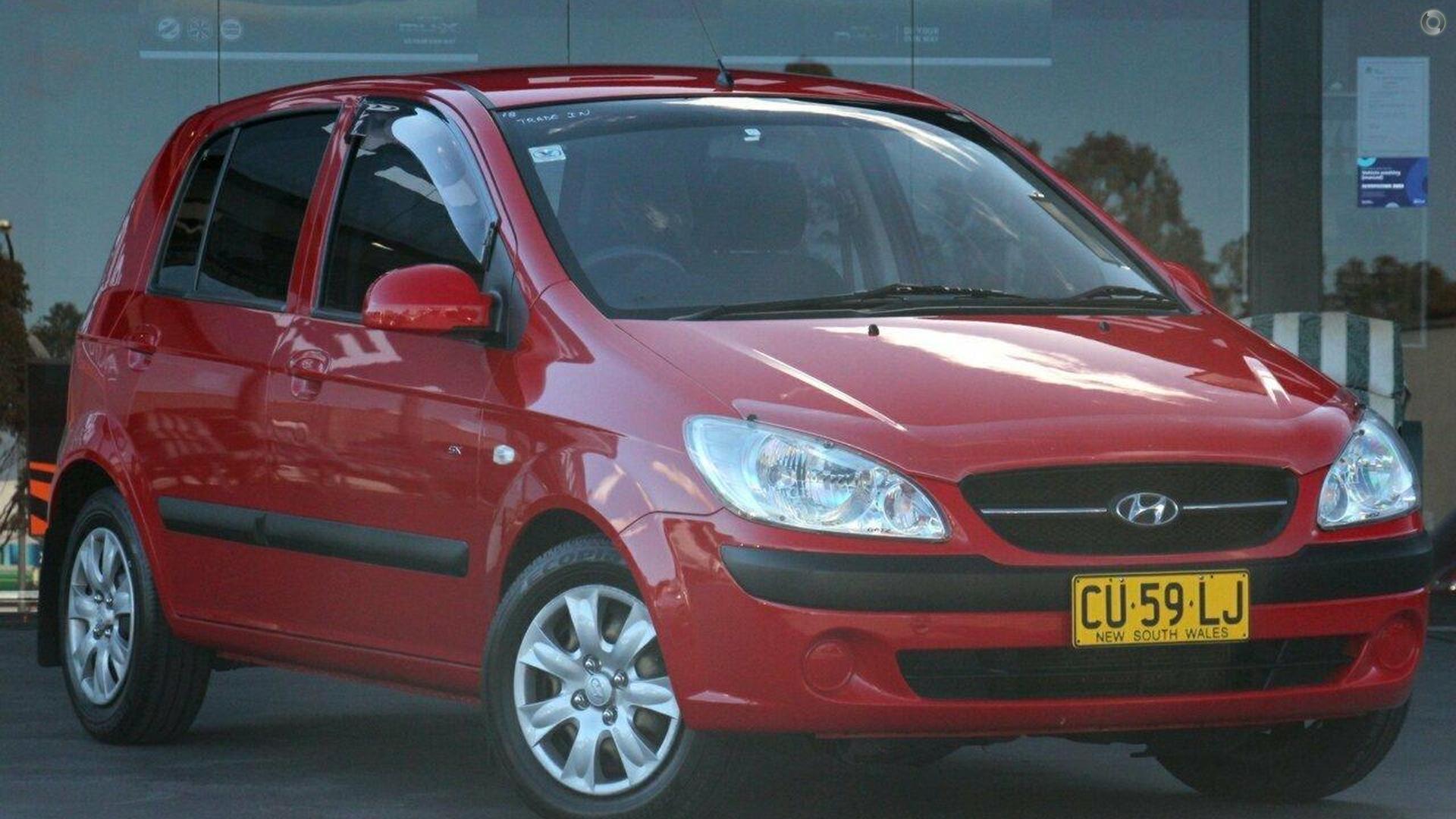 2010 Hyundai Getz SX TB