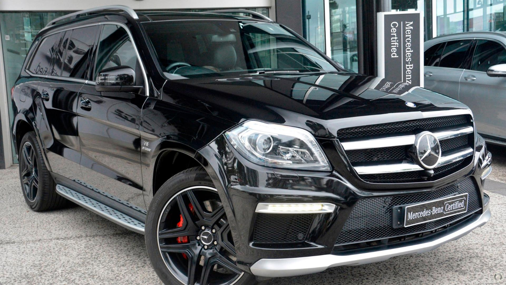 2015 Mercedes-Benz GL 63 AMG Wagon