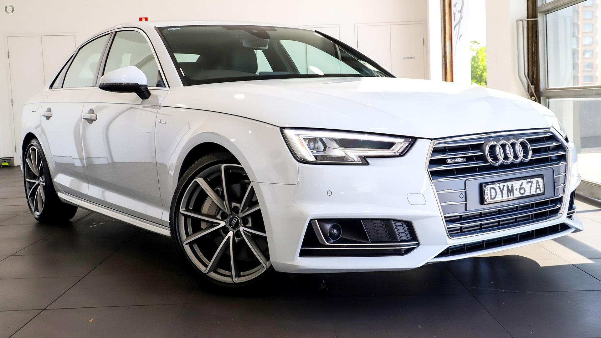 2018 Audi A4 S Line B9 Alto