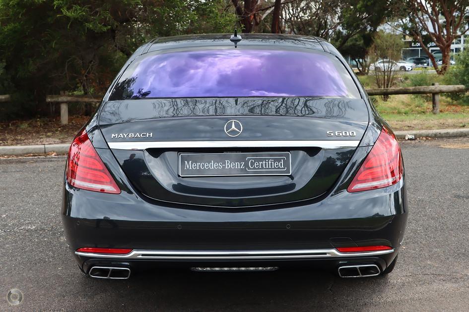 2015 Mercedes-Benz MAYBACH S 600 Sedan