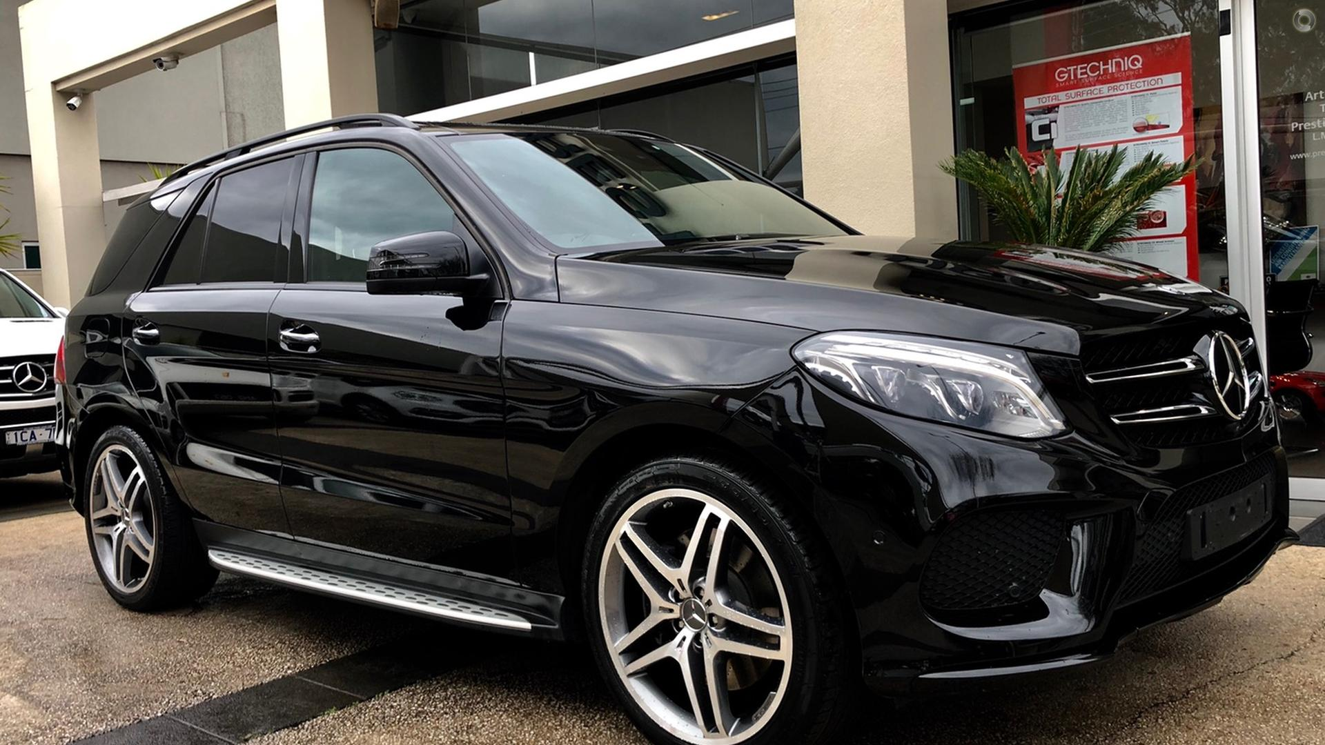 2016 Mercedes-Benz GLE500  W166