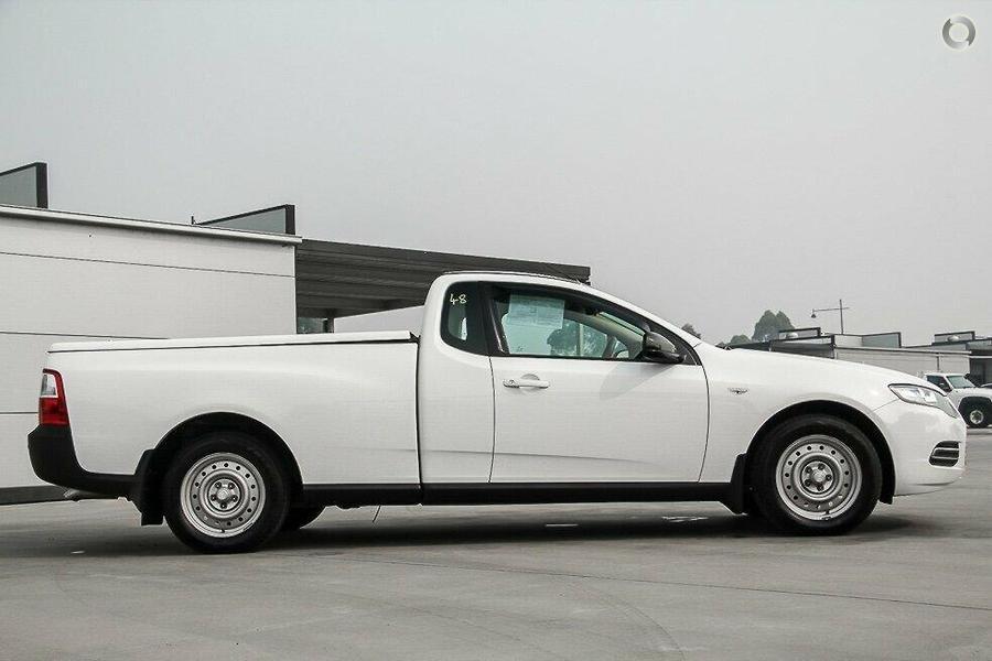 2012 Ford Falcon Ute EcoLPi FG MkII