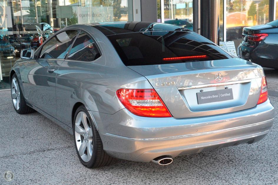 2012 Mercedes-Benz C 250 CDI Coupe
