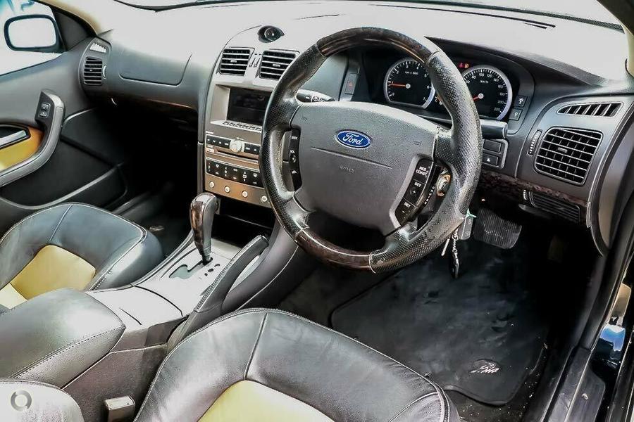 2004 Ford Fairmont Ghia BA Mk II