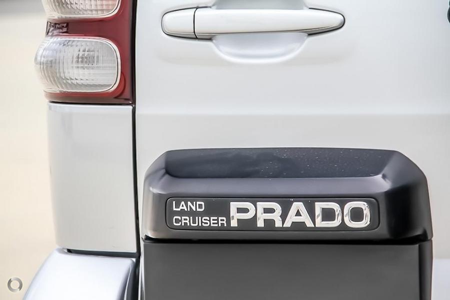 2005 Toyota Landcruiser Prado GXL KZJ120R