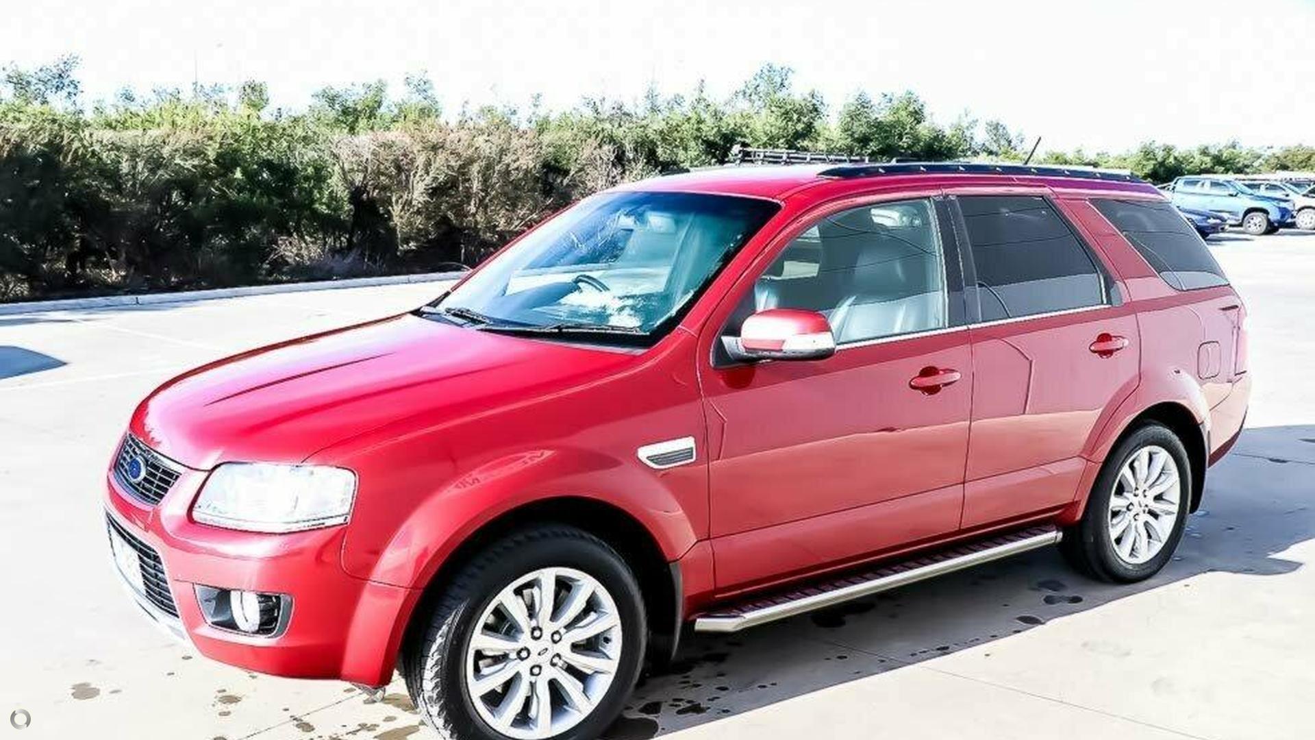 2009 Ford Territory Ghia SY MKII