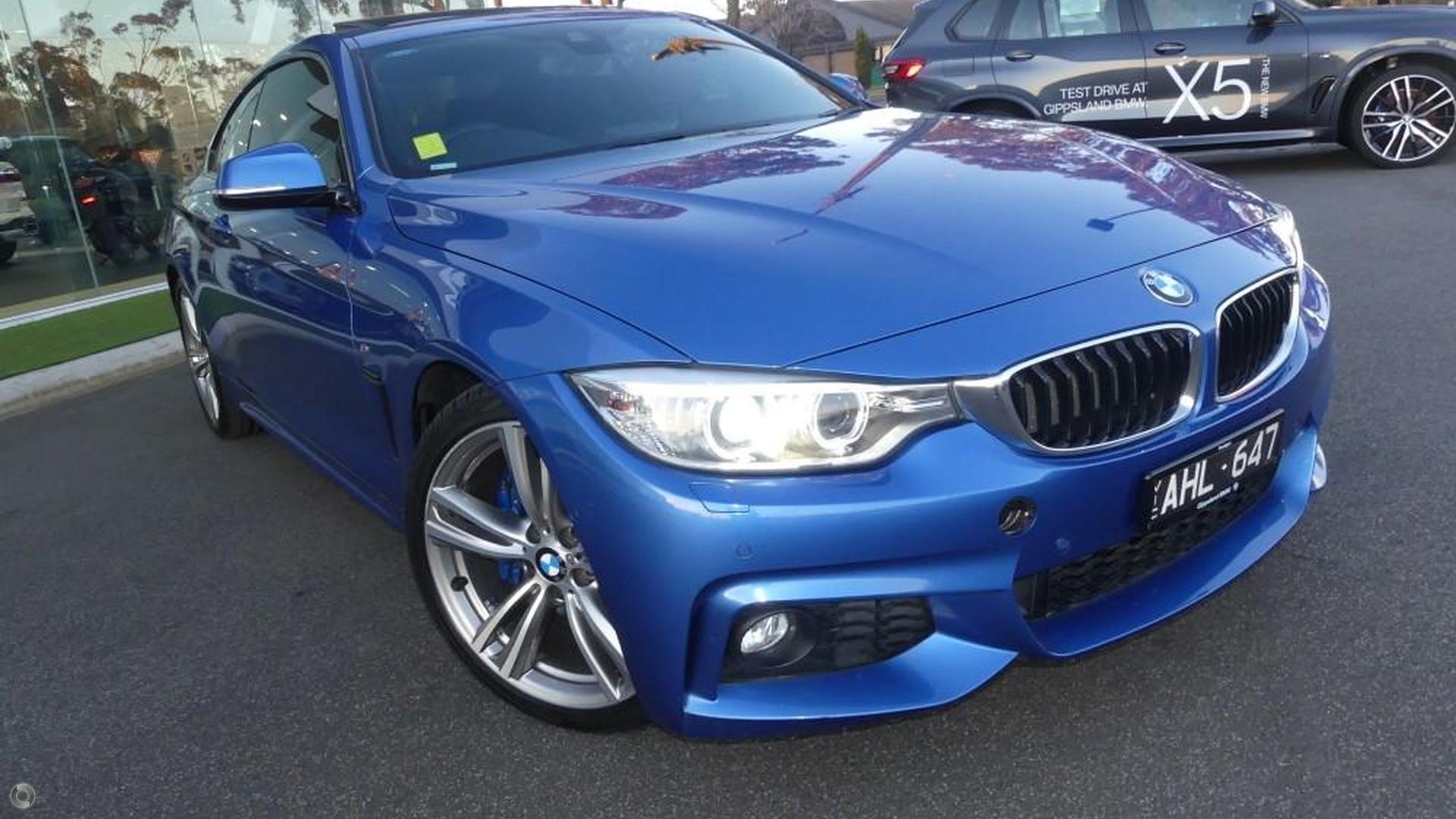 2015 BMW 420d Sport Line