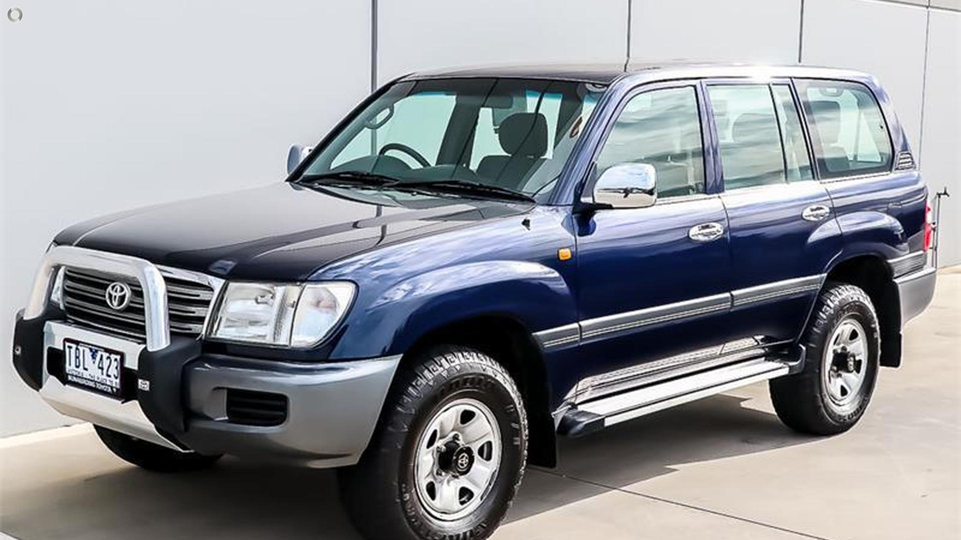 2003 Toyota Landcruiser UZJ100R