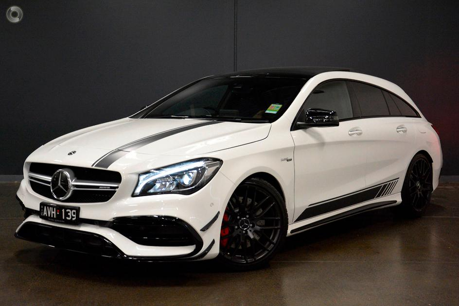 Mercedes Benz Cla >> 2018 Mercedes Benz Cla 45 Amg Shooting Brake 3 Point