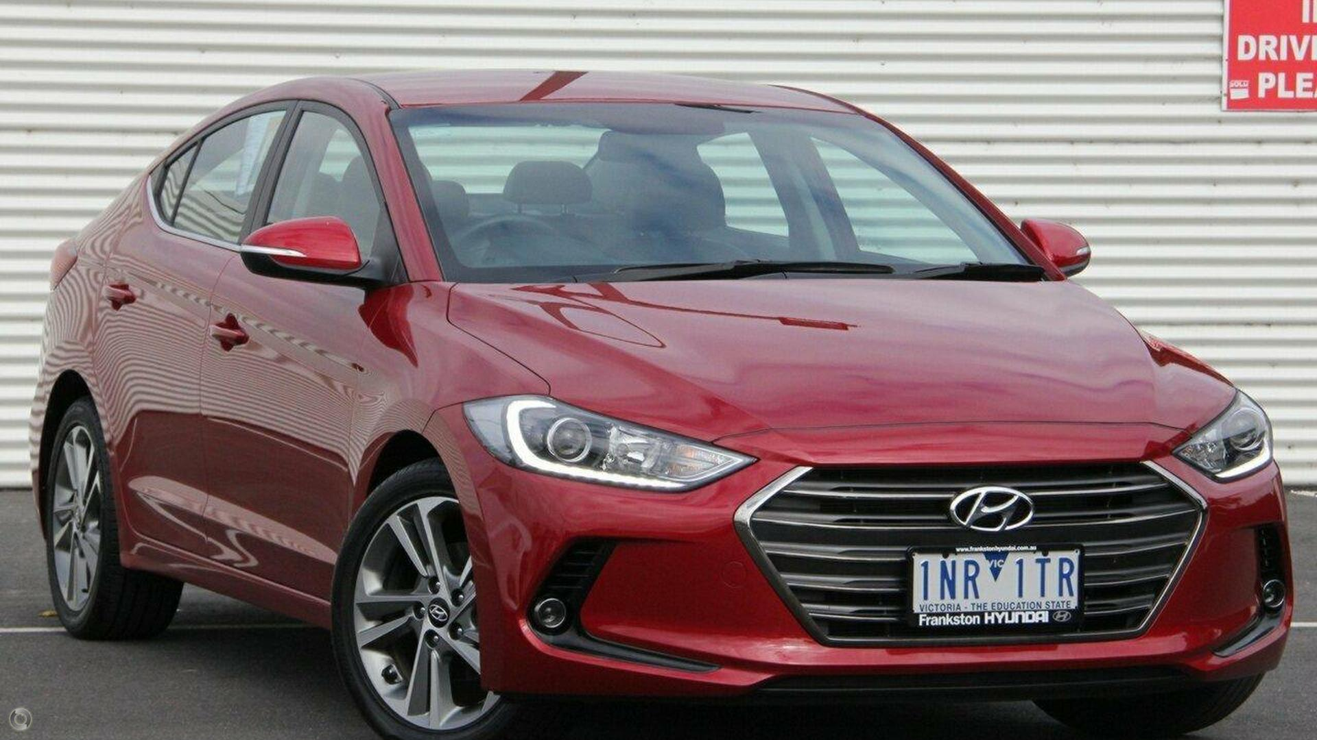 2018 Hyundai Elantra AD