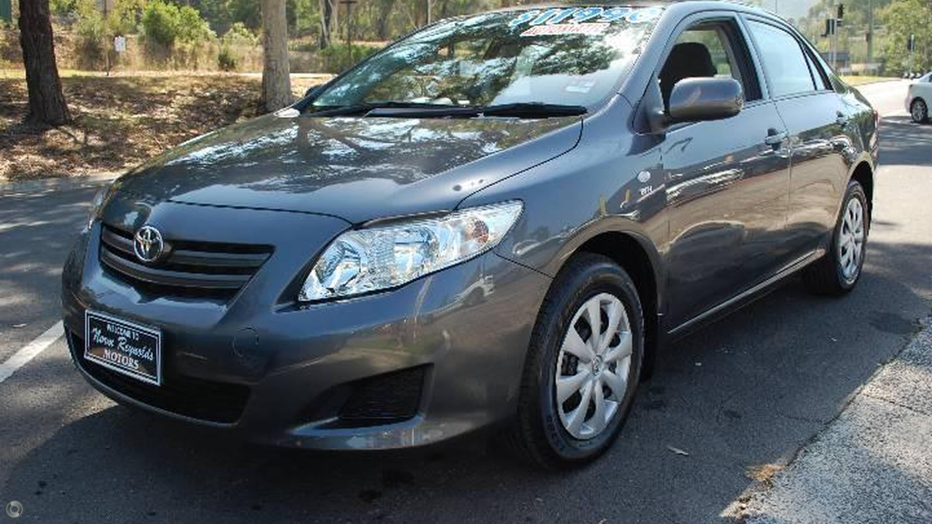 2009 Toyota Corolla Zre152r
