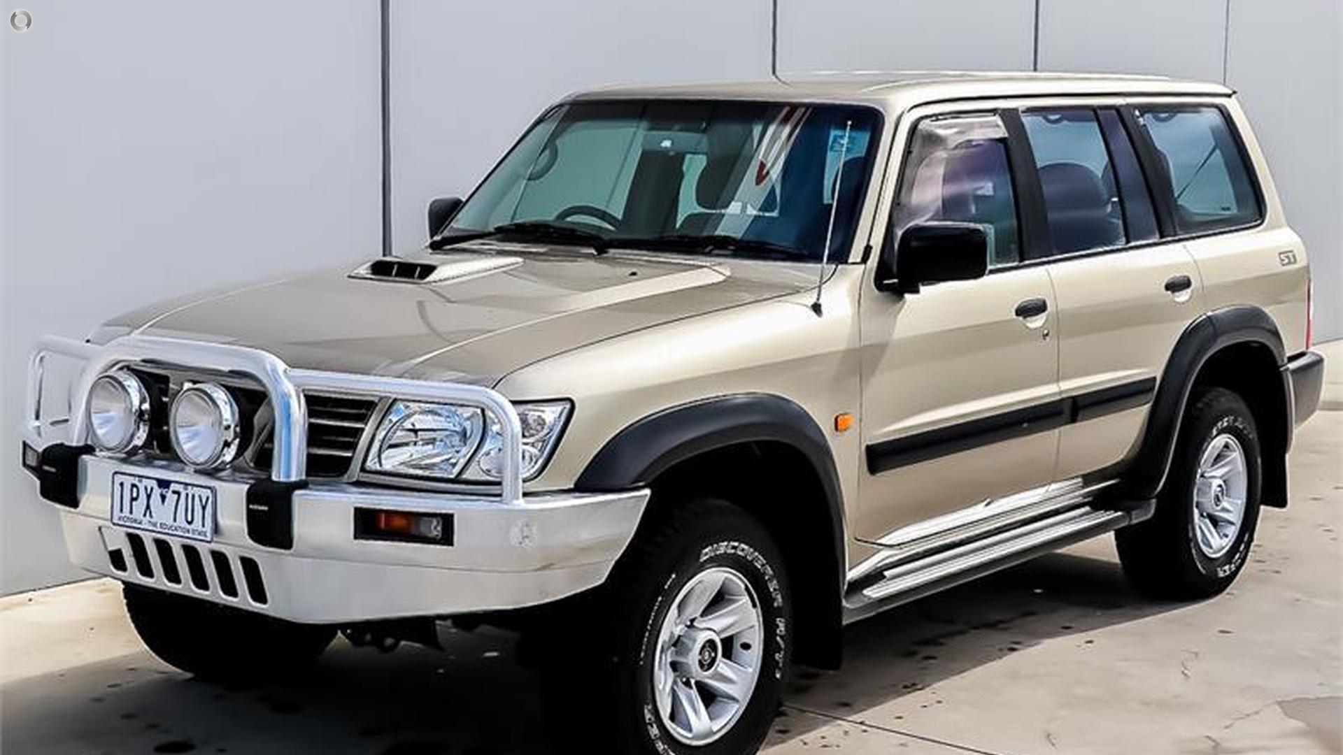 2004 Nissan Patrol GU III
