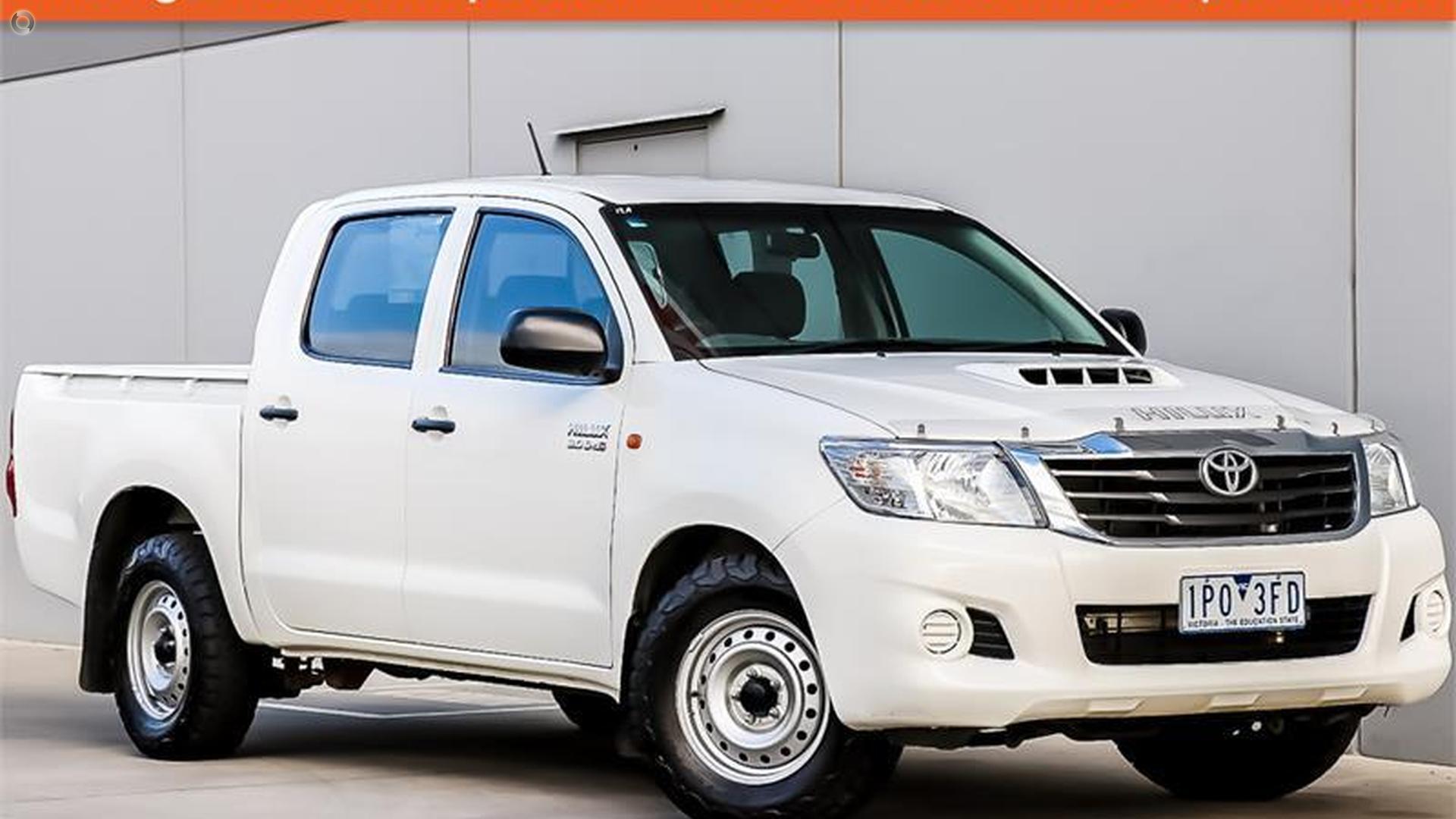 2013 Toyota Hilux KUN16R