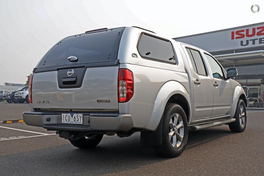 2014 Nissan Navara Titanium D40 Series 7