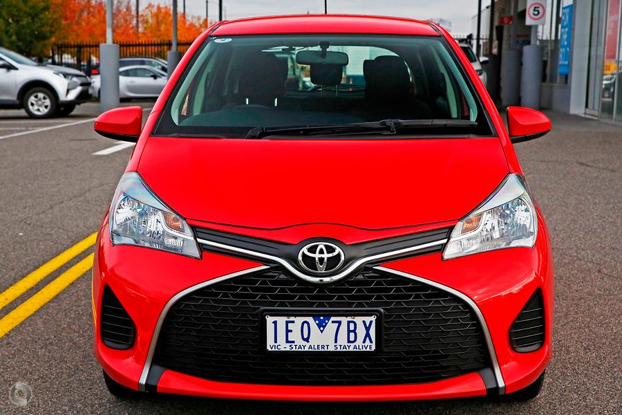 2015 Toyota Yaris Ascent NCP130R