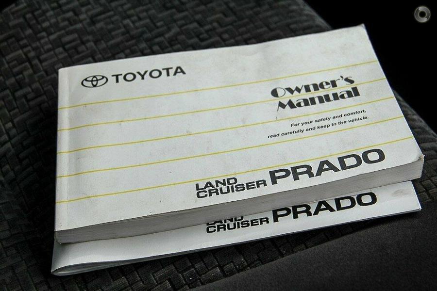 2009 Toyota Landcruiser Prado GXL GRJ120R