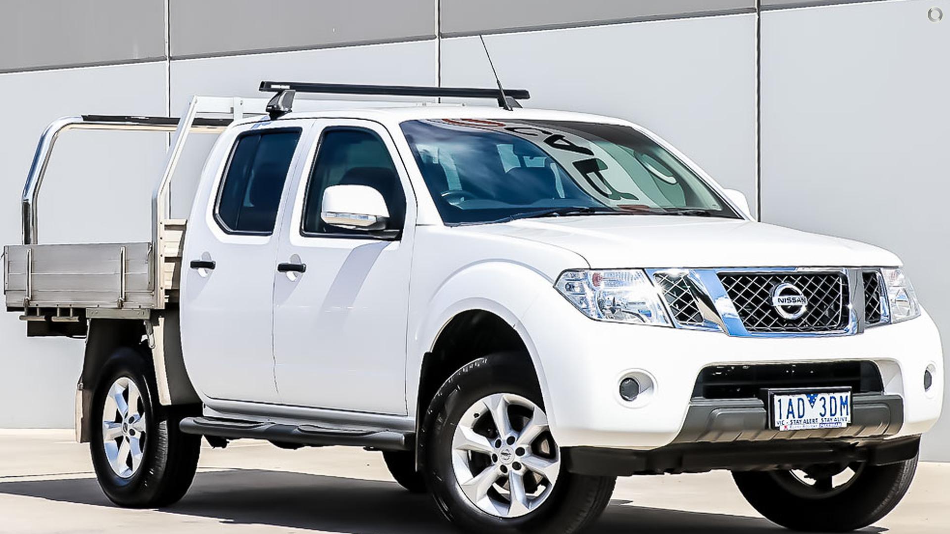 2013 Nissan Navara D40 Series 6