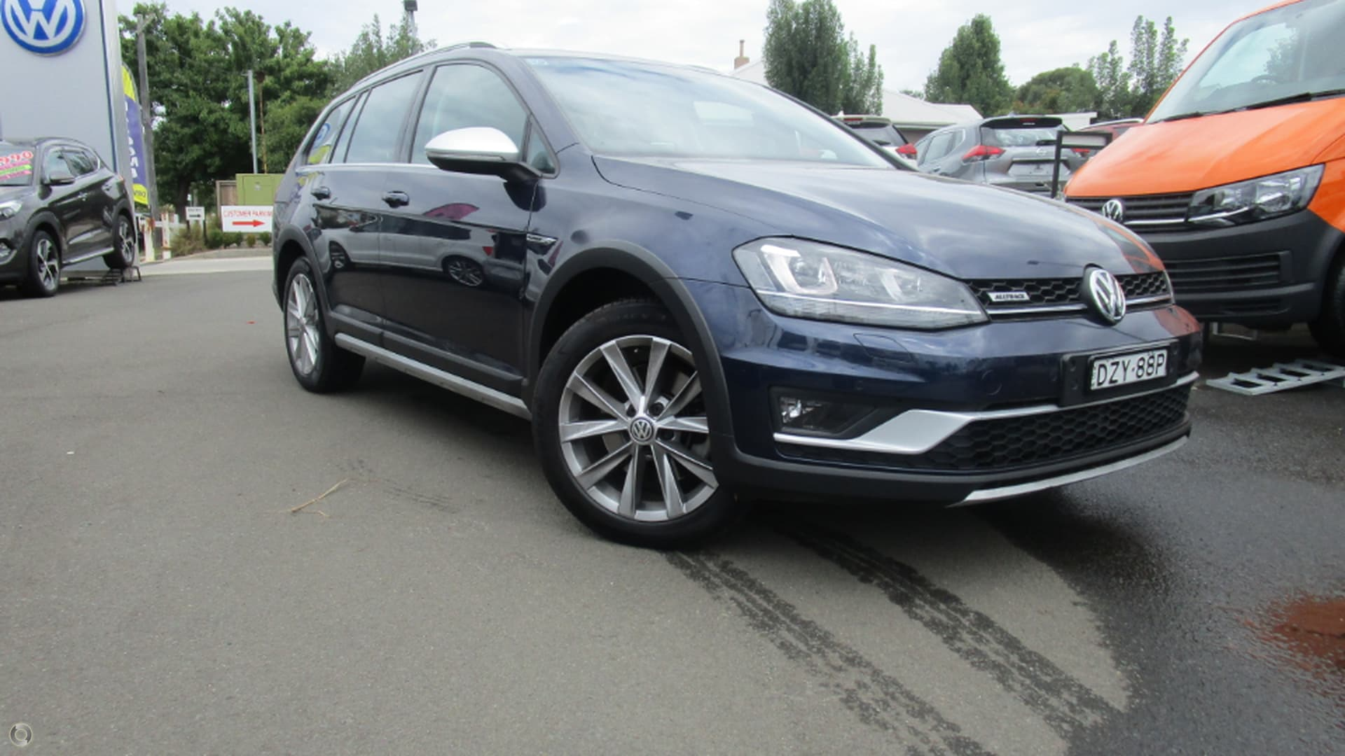 2016 Volkswagen Golf Alltrack 132tsi 7 Wakeling Automotive