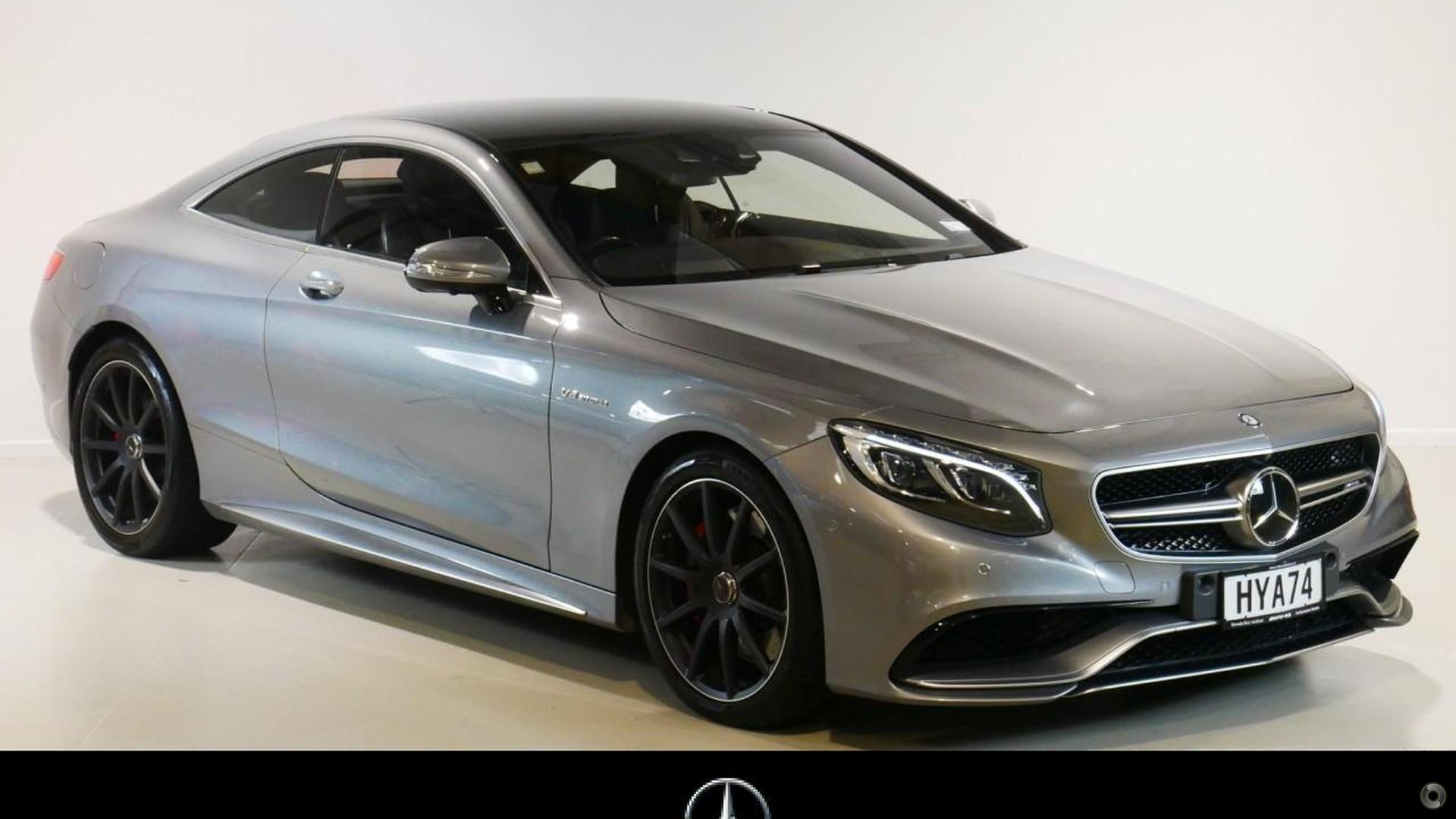 2015 Mercedes-Benz S 63 Coupe
