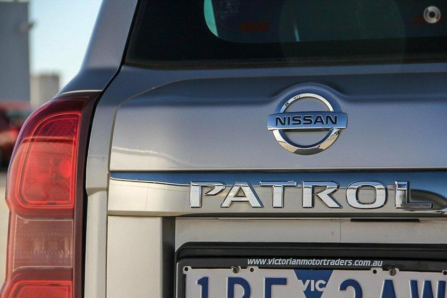 2005 Nissan Patrol ST GU IV