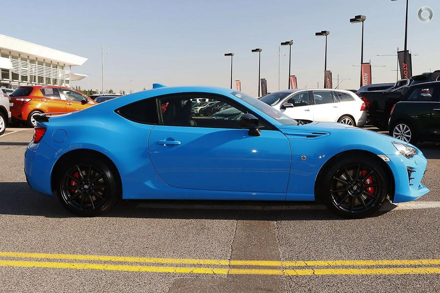 2018 Toyota 86 GTS Apollo Blue ZN6