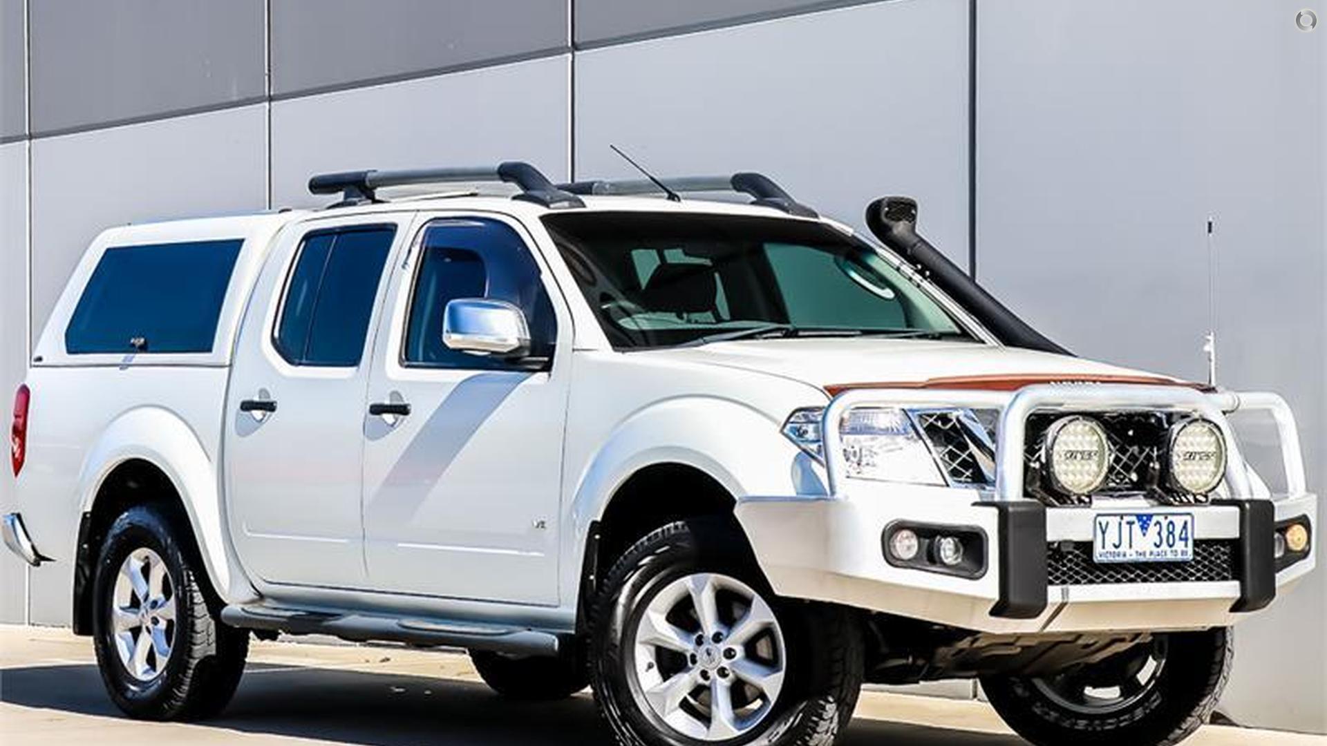 2011 Nissan Navara D40 Series 5
