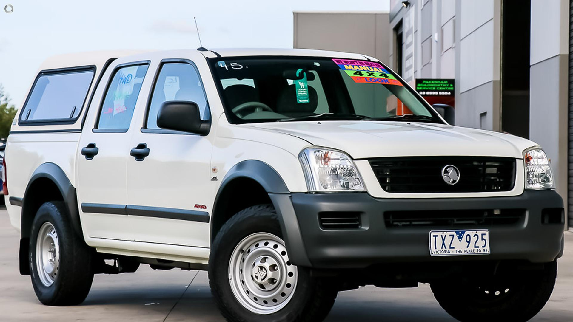 2006 Holden Rodeo RA