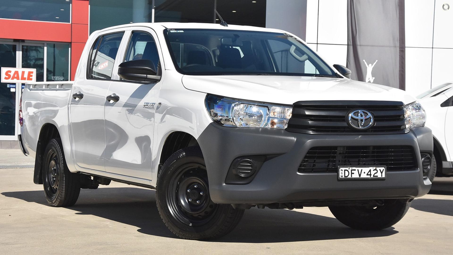 2016 Toyota Hilux TGN121R