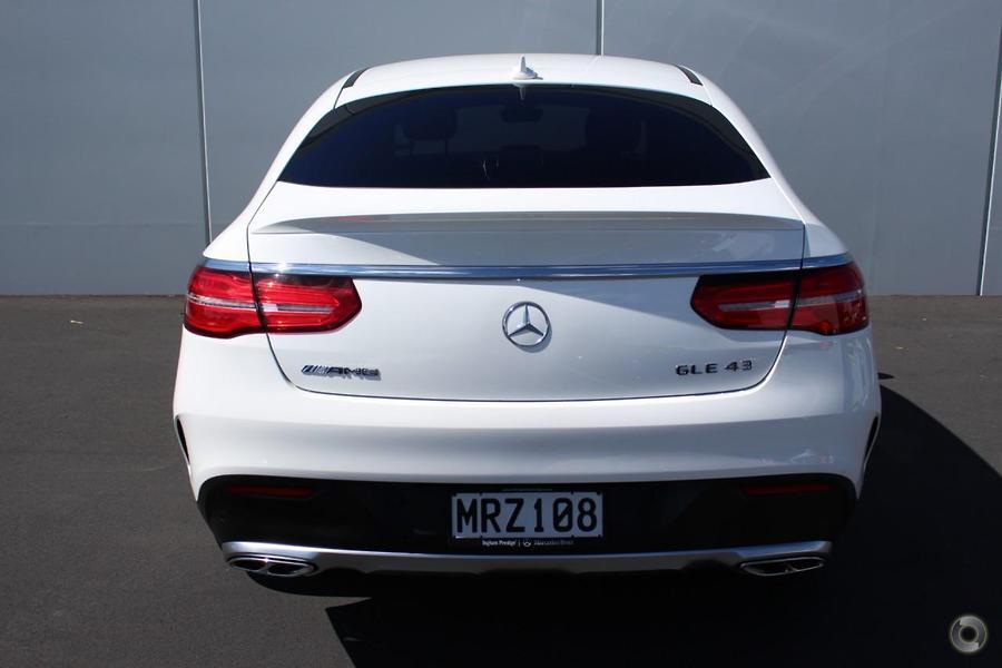 2017 Mercedes-AMG GLE 43 Coupe